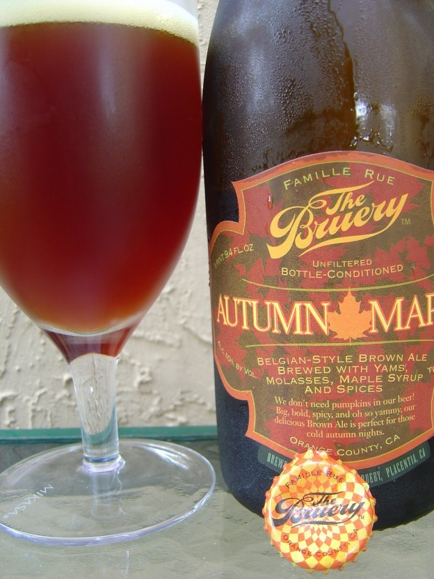 The Bruery Autumn Maple Belgian Style Brown Ale